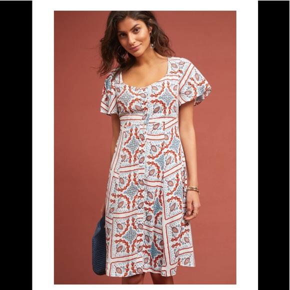 628bef3e2e74 Maeve Dresses   Anthropologie Praslin Printed Dress   Poshmark